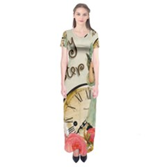 Easter 1225805 1280 Short Sleeve Maxi Dress