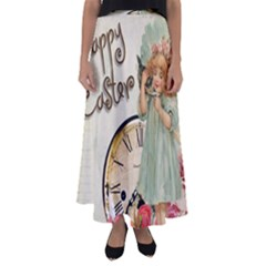 Easter 1225805 1280 Flared Maxi Skirt