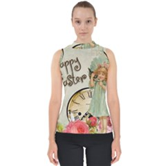 Easter 1225805 1280 Mock Neck Shell Top