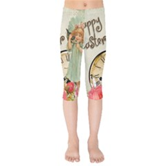 Easter 1225805 1280 Kids  Capri Leggings