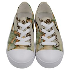 Easter 1225805 1280 Kids  Low Top Canvas Sneakers