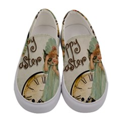 Easter 1225805 1280 Women s Canvas Slip Ons