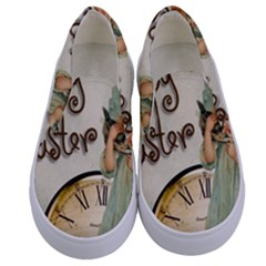 Easter 1225805 1280 Kids  Canvas Slip Ons