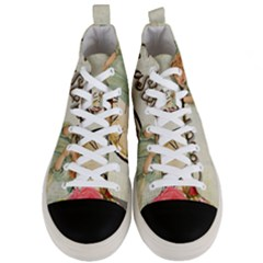 Easter 1225805 1280 Men s Mid Top Canvas Sneakers