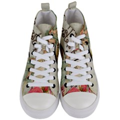 Easter 1225805 1280 Women s Mid Top Canvas Sneakers
