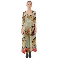 Easter 1225805 1280 Button Up Boho Maxi Dress