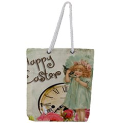 Easter 1225805 1280 Full Print Rope Handle Tote (large)