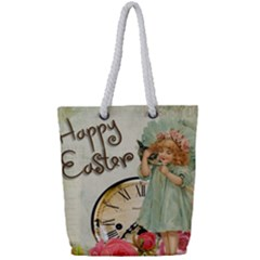 Easter 1225805 1280 Full Print Rope Handle Tote (small)