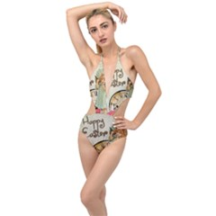 Easter 1225805 1280 Plunging Cut Out Swimsuit