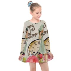 Easter 1225805 1280 Kids  Long Sleeve Dress