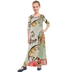 Easter 1225805 1280 Kids  Quarter Sleeve Maxi Dress