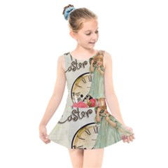 Easter 1225805 1280 Kids  Skater Dress Swimsuit