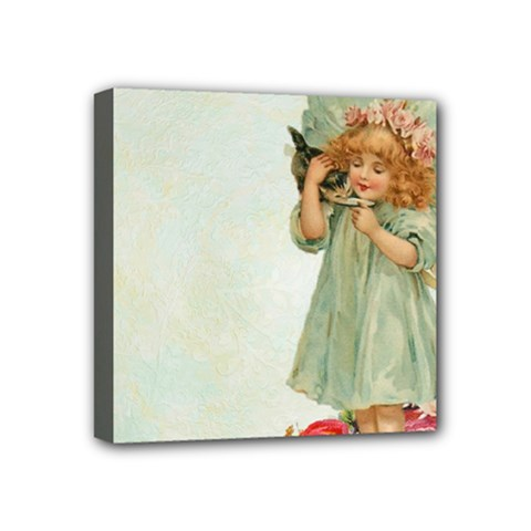 Vintage 1225887 1920 Mini Canvas 4  X 4  (stretched)
