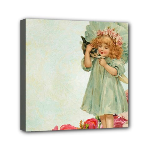 Vintage 1225887 1920 Mini Canvas 6  X 6  (stretched)