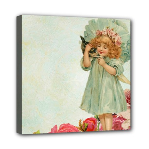 Vintage 1225887 1920 Mini Canvas 8  X 8  (stretched)