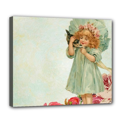 Vintage 1225887 1920 Deluxe Canvas 24  X 20  (stretched)