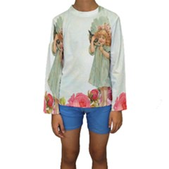 Vintage 1225887 1920 Kids  Long Sleeve Swimwear