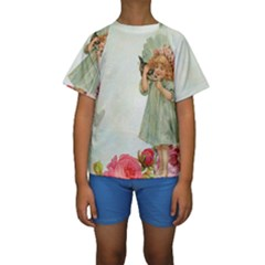 Vintage 1225887 1920 Kids  Short Sleeve Swimwear