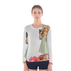 Vintage 1225887 1920 Women s Long Sleeve Tee