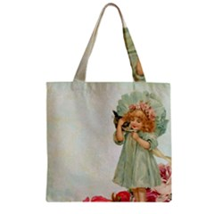 Vintage 1225887 1920 Zipper Grocery Tote Bag