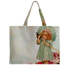 Vintage 1225887 1920 Zipper Mini Tote Bag