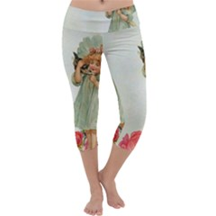 Vintage 1225887 1920 Capri Yoga Leggings