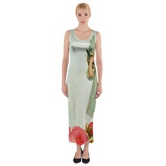 Vintage 1225887 1920 Fitted Maxi Dress