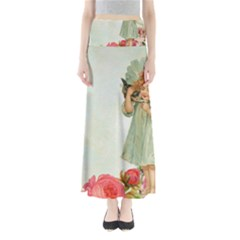 Vintage 1225887 1920 Full Length Maxi Skirt