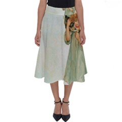 Vintage 1225887 1920 Perfect Length Midi Skirt