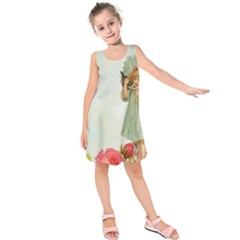 Vintage 1225887 1920 Kids  Sleeveless Dress