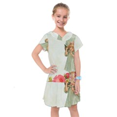 Vintage 1225887 1920 Kids  Drop Waist Dress
