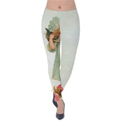 Vintage 1225887 1920 Velvet Leggings