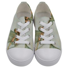 Vintage 1225887 1920 Kids  Low Top Canvas Sneakers