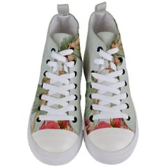 Vintage 1225887 1920 Women s Mid Top Canvas Sneakers