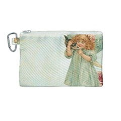Vintage 1225887 1920 Canvas Cosmetic Bag (medium)