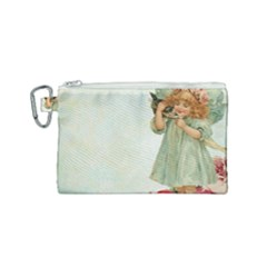 Vintage 1225887 1920 Canvas Cosmetic Bag (small)