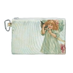 Vintage 1225887 1920 Canvas Cosmetic Bag (large)