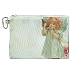 Vintage 1225887 1920 Canvas Cosmetic Bag (xl)