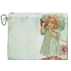 Vintage 1225887 1920 Canvas Cosmetic Bag (xxl)