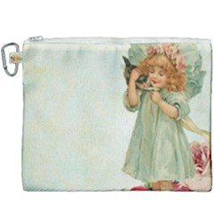 Vintage 1225887 1920 Canvas Cosmetic Bag (xxxl)