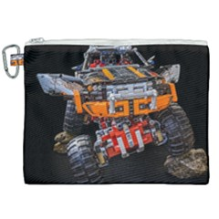 Monster Truck Lego Technic Technic Canvas Cosmetic Bag (xxl) by Sapixe