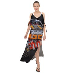 Monster Truck Lego Technic Technic Maxi Chiffon Cover Up Dress