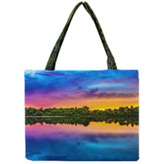 Sunset Color Evening Sky Evening Mini Tote Bag by Sapixe