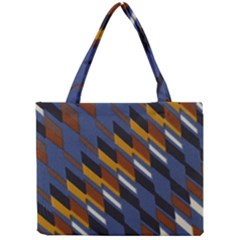 Colors Fabric Abstract Textile Mini Tote Bag by Sapixe