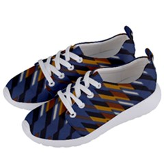 Colors Fabric Abstract Textile Women s Lightweight Sports Shoes by Sapixe
