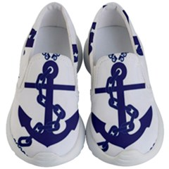 Anchor Chain Nautical Ocean Sea Kid s Lightweight Slip Ons by Sapixe
