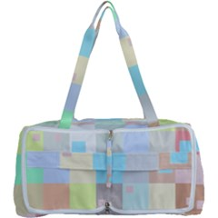 Pastel Diamonds Background Multi Function Bag	 by Sapixe