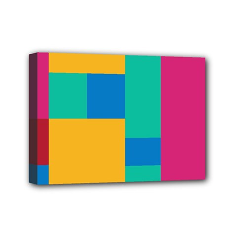 Background Abstract Mini Canvas 7  X 5  (stretched)