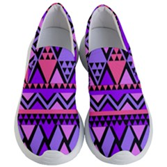 Seamless Purple Pink Pattern Women s Lightweight Slip Ons by Sapixe