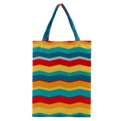Retro Colors 60 Background Classic Tote Bag